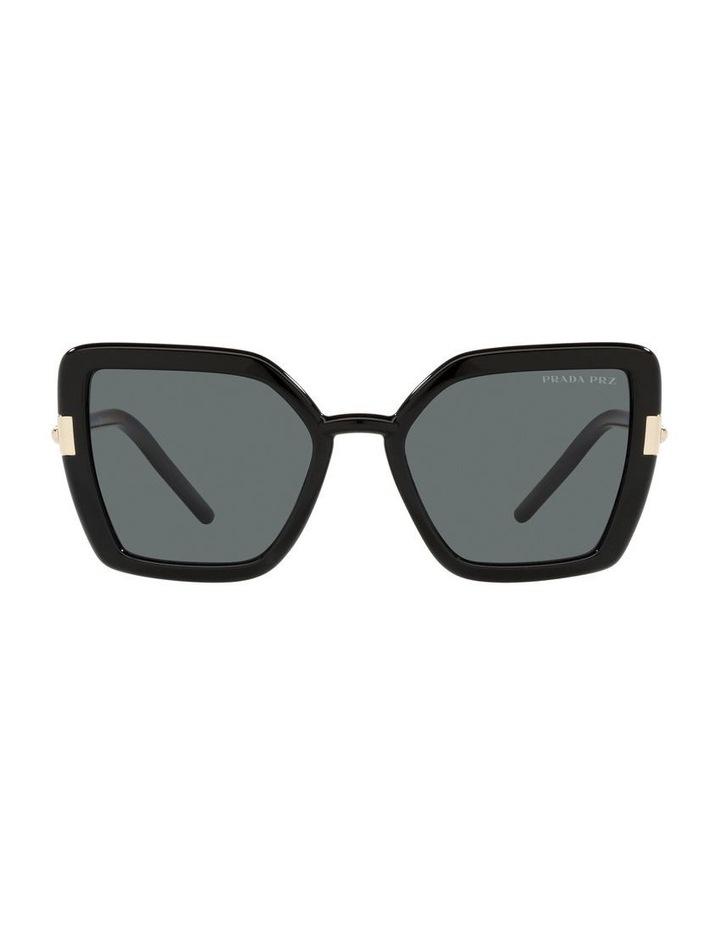 Polarised Black Cat Eye Sunglasses 0PR 09WS image 2