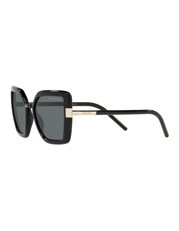 Polarised Black Cat Eye Sunglasses 0PR 09WS image 3
