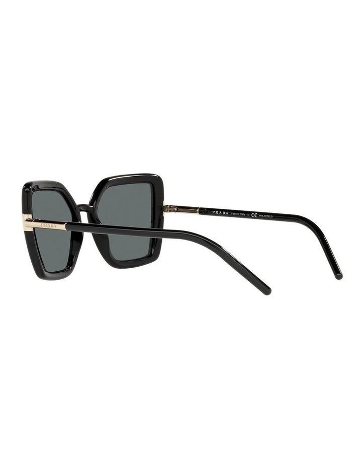 Polarised Black Cat Eye Sunglasses 0PR 09WS image 5
