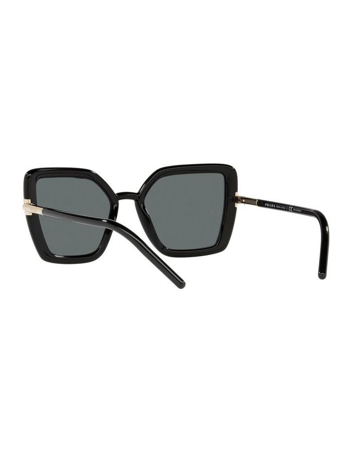 Polarised Black Cat Eye Sunglasses 0PR 09WS image 6