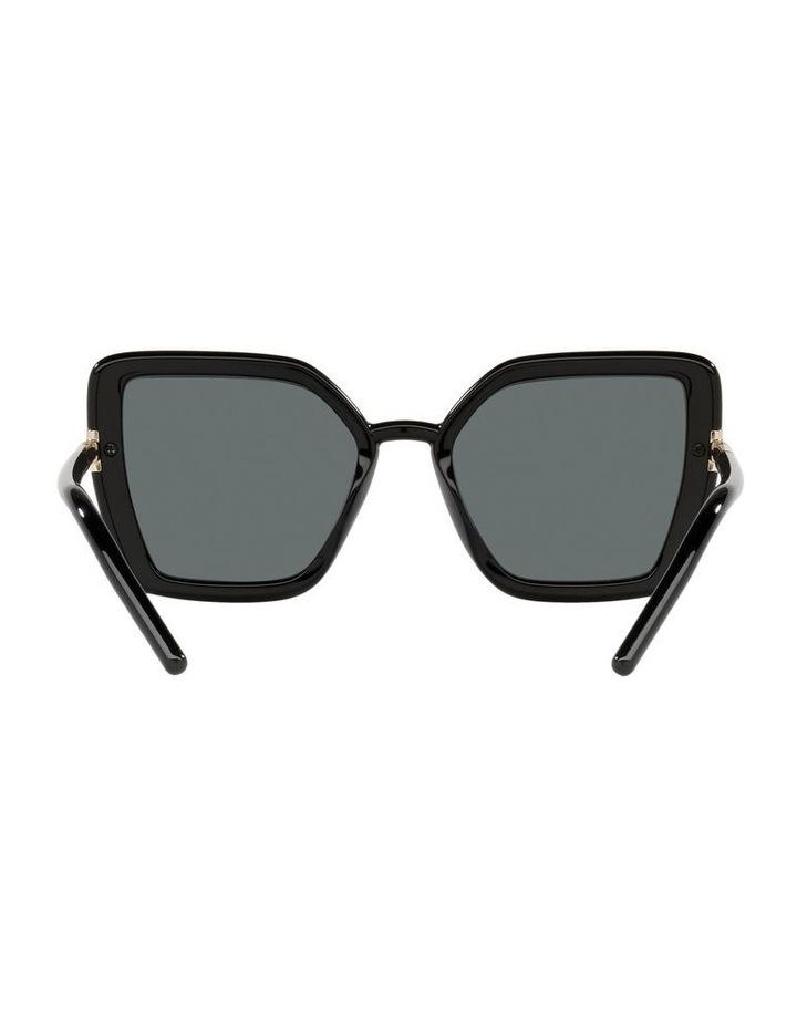 Polarised Black Cat Eye Sunglasses 0PR 09WS image 7