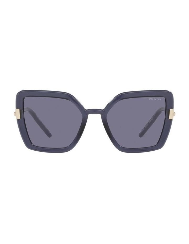 Purple Transparent Cat Eye Sunglasses 0PR 09WS image 2