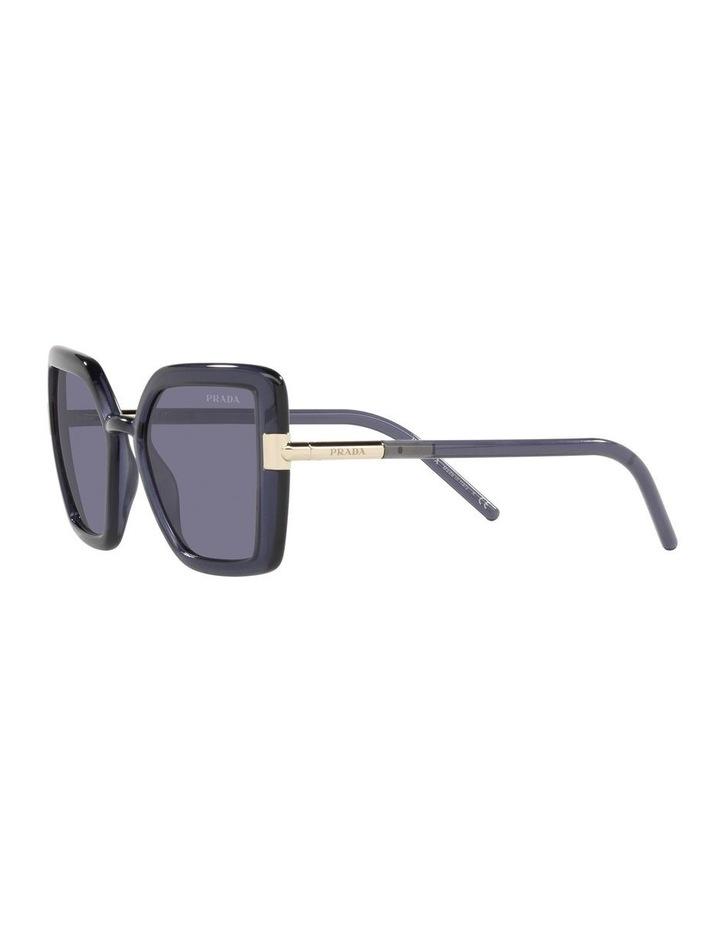Purple Transparent Cat Eye Sunglasses 0PR 09WS image 3