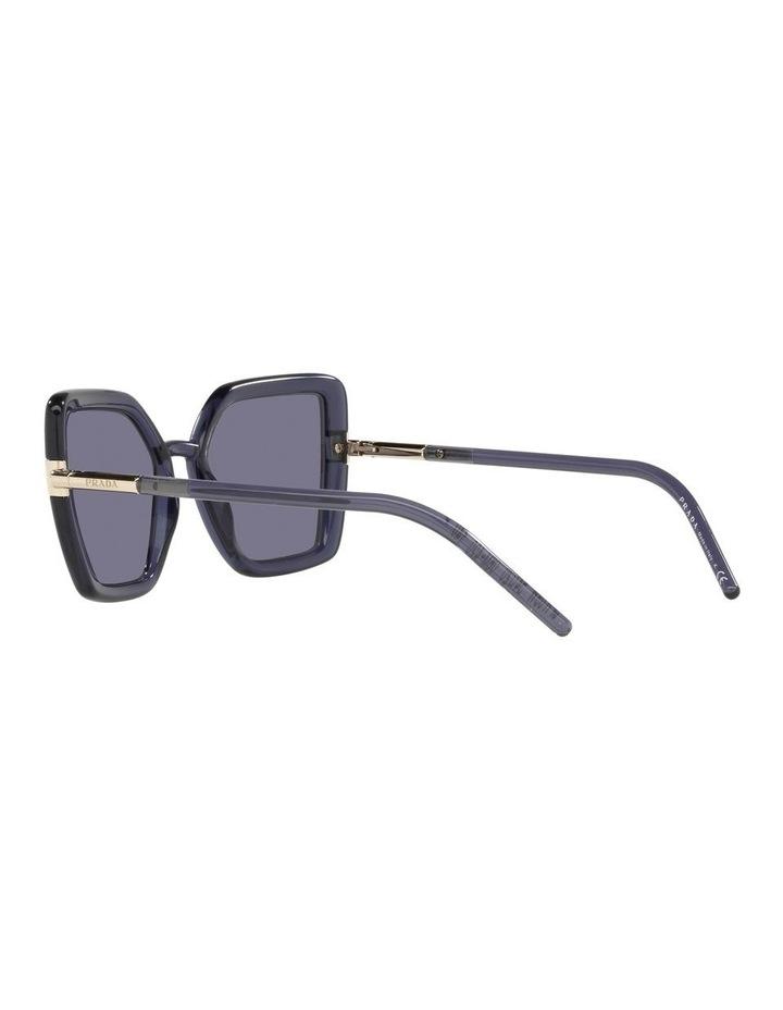 Purple Transparent Cat Eye Sunglasses 0PR 09WS image 5