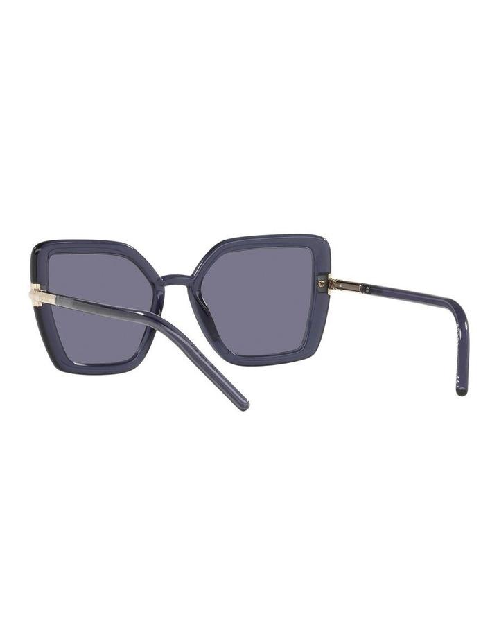 Purple Transparent Cat Eye Sunglasses 0PR 09WS image 6