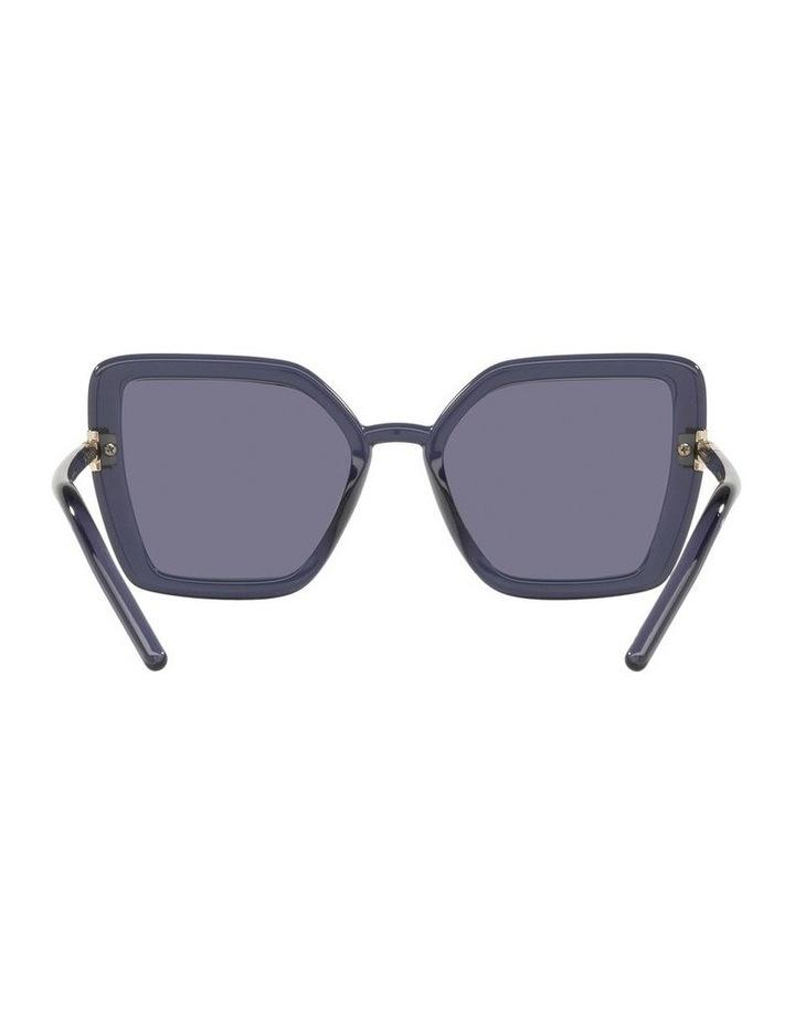 Purple Transparent Cat Eye Sunglasses 0PR 09WS image 7