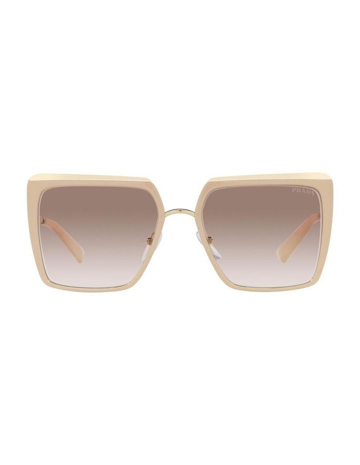 Tan Square Sunglasses 0PR 58WS image 2