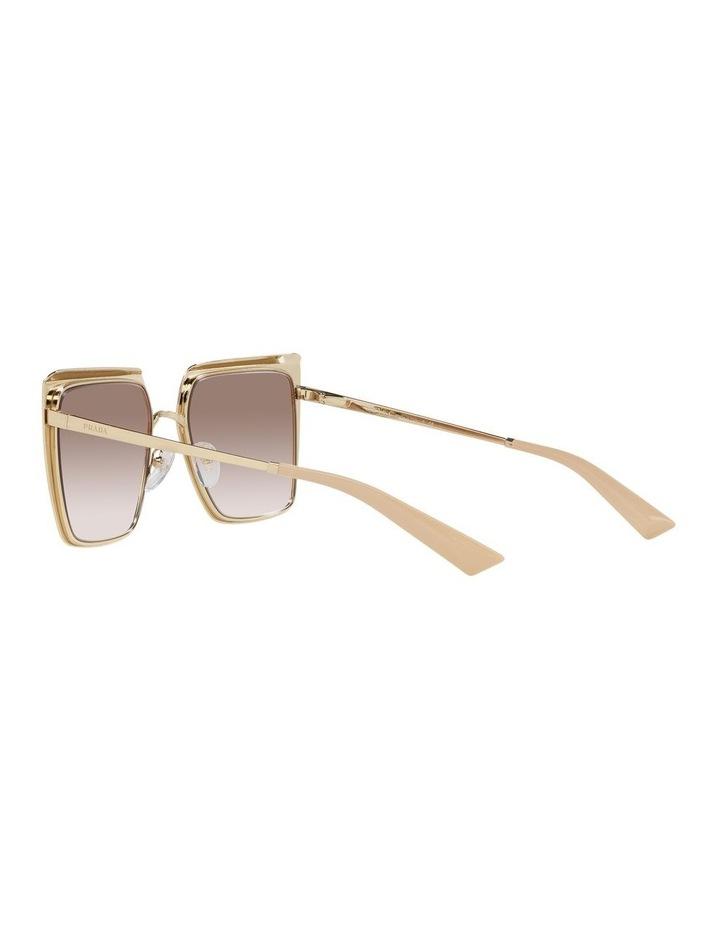 Tan Square Sunglasses 0PR 58WS image 5