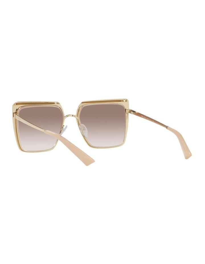Tan Square Sunglasses 0PR 58WS image 6