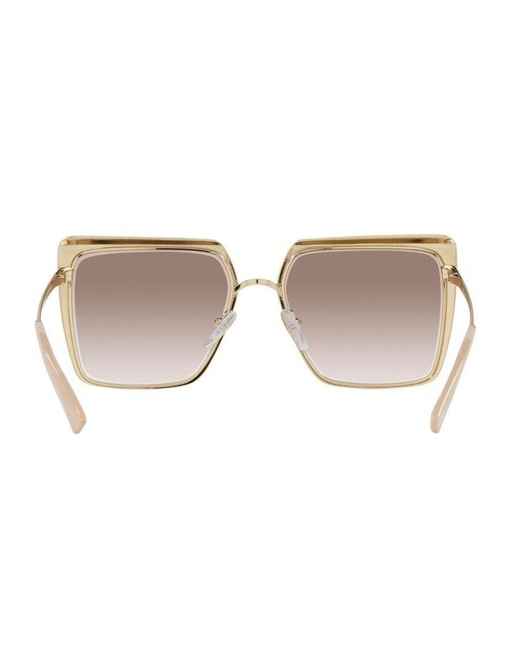 Tan Square Sunglasses 0PR 58WS image 7