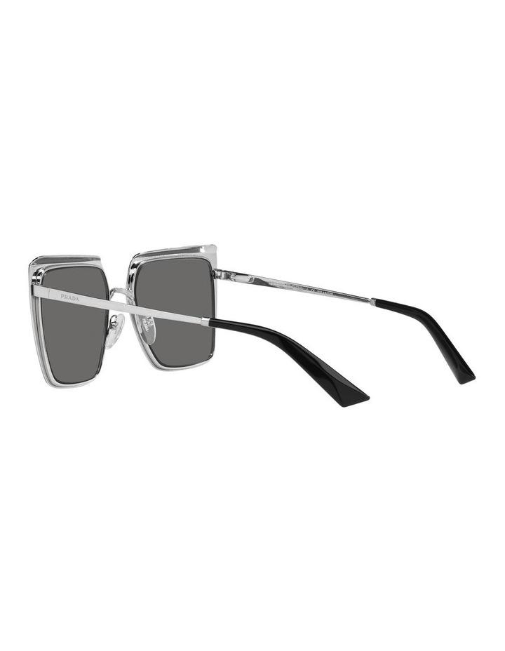 Polarised Black Square Sunglasses 0PR 58WS image 5