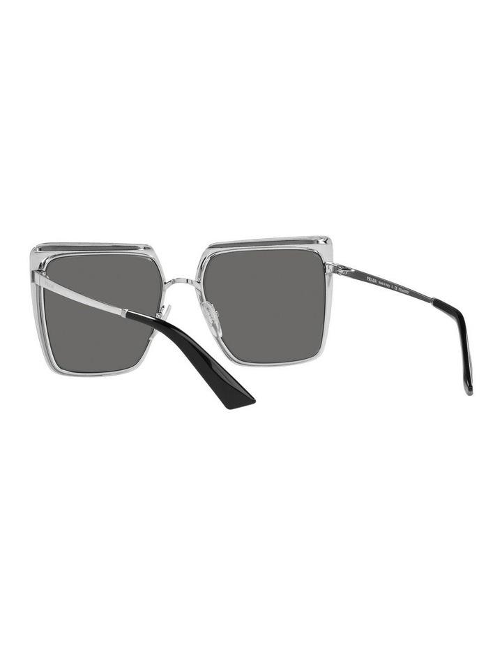 Polarised Black Square Sunglasses 0PR 58WS image 6