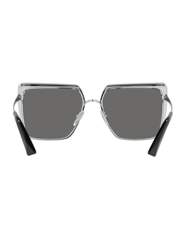 Polarised Black Square Sunglasses 0PR 58WS image 7