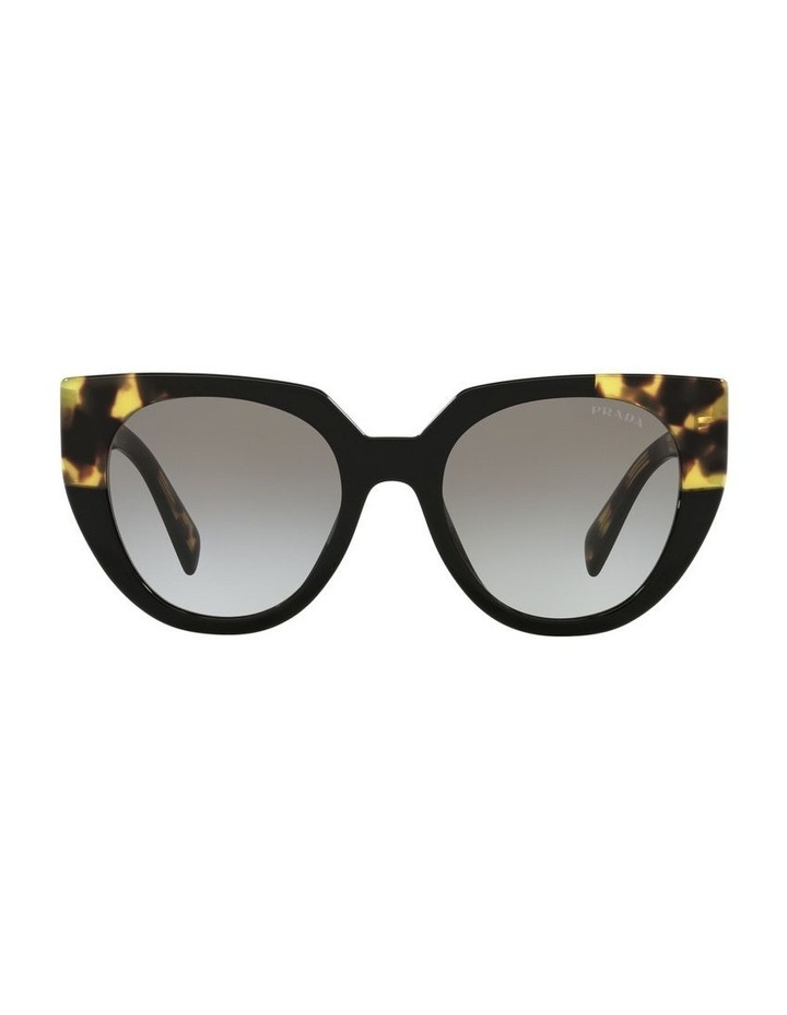 Black Cat Eye Sunglasses 0PR 14WSF image 2