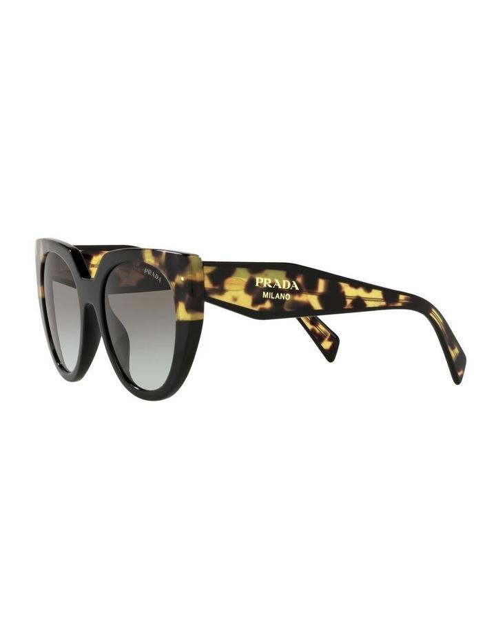 Black Cat Eye Sunglasses 0PR 14WSF image 3