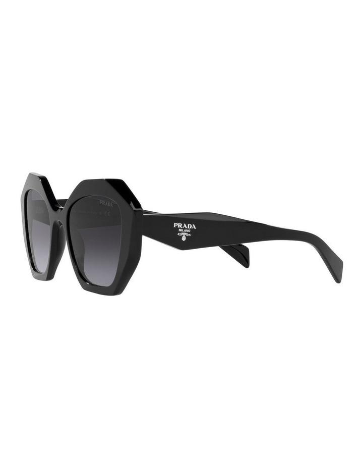 Black Square Sunglasses 0PR 16WSF image 3