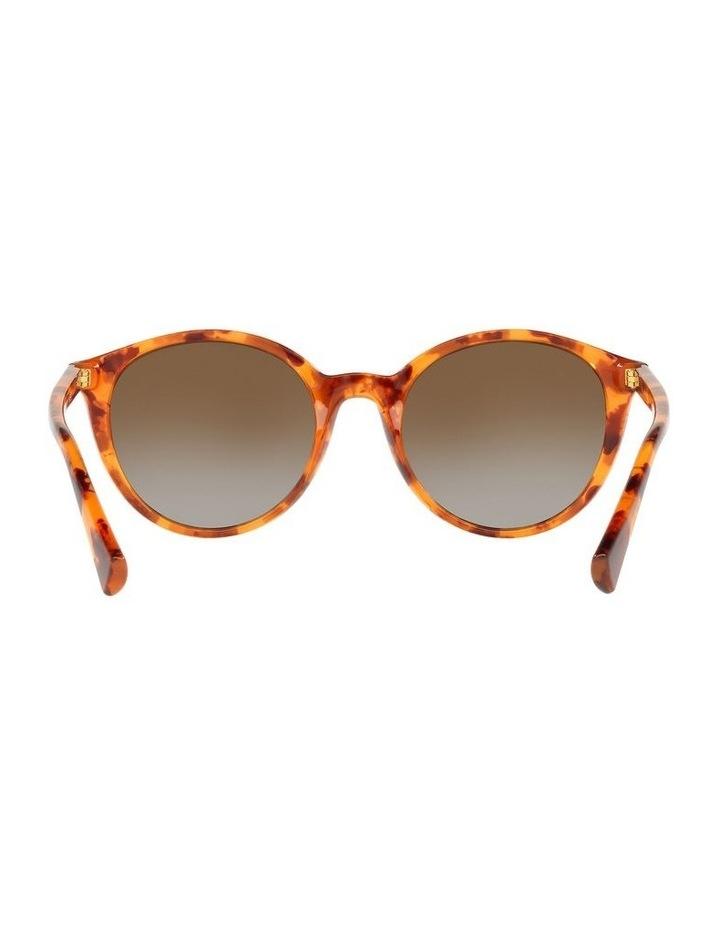 Polarised Brown Oval Sunglasses 0RA5273 image 7