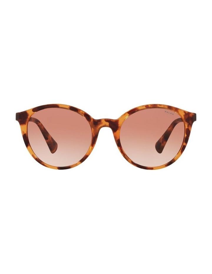 Red Oval Sunglasses 0RA5273 image 2