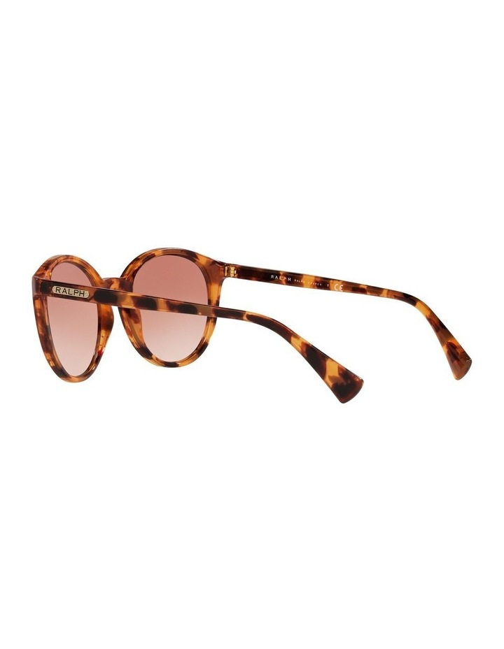 Red Oval Sunglasses 0RA5273 image 5