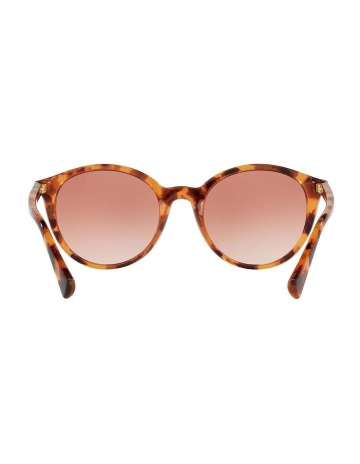 Red Oval Sunglasses 0RA5273 image 7