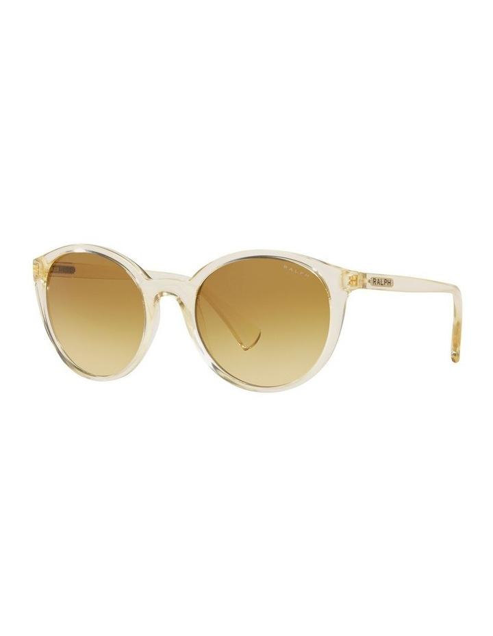 Yellow Oval Sunglasses 0RA5273 image 1
