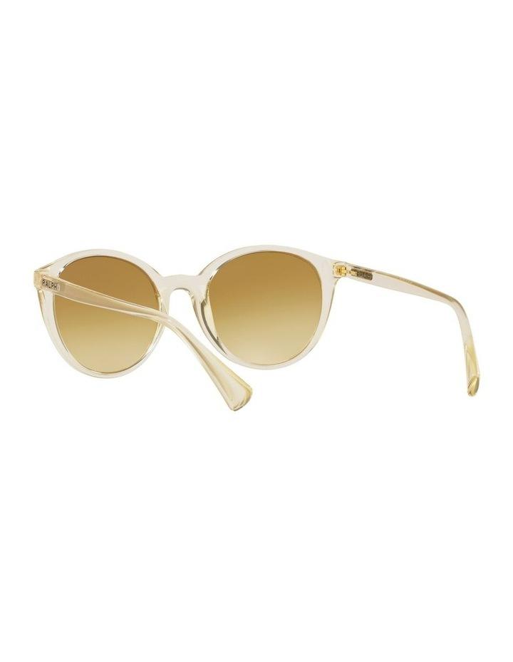 Yellow Oval Sunglasses 0RA5273 image 6
