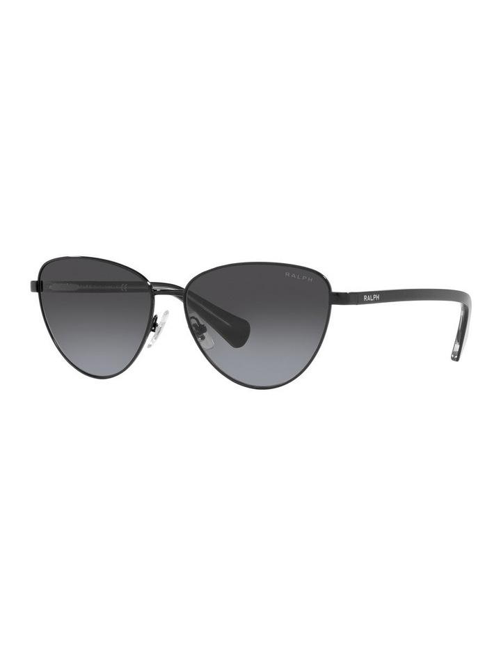 Black Cat Eye Sunglasses 0RA4134 image 1
