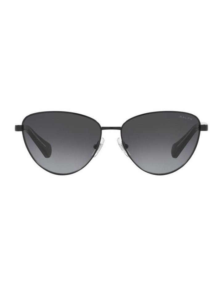 Black Cat Eye Sunglasses 0RA4134 image 2