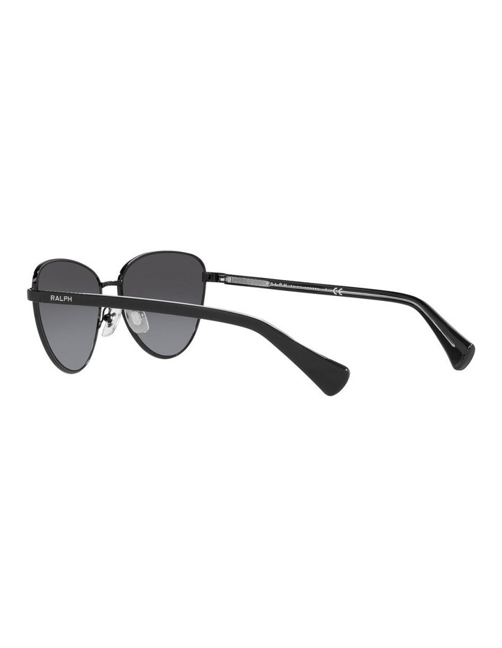 Black Cat Eye Sunglasses 0RA4134 image 5