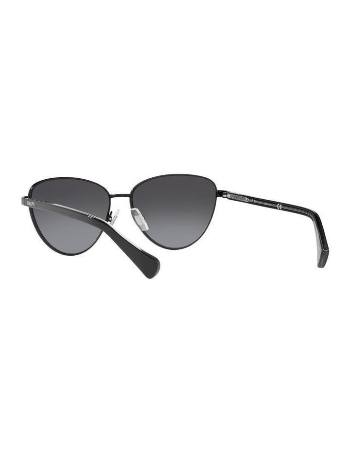 Black Cat Eye Sunglasses 0RA4134 image 6