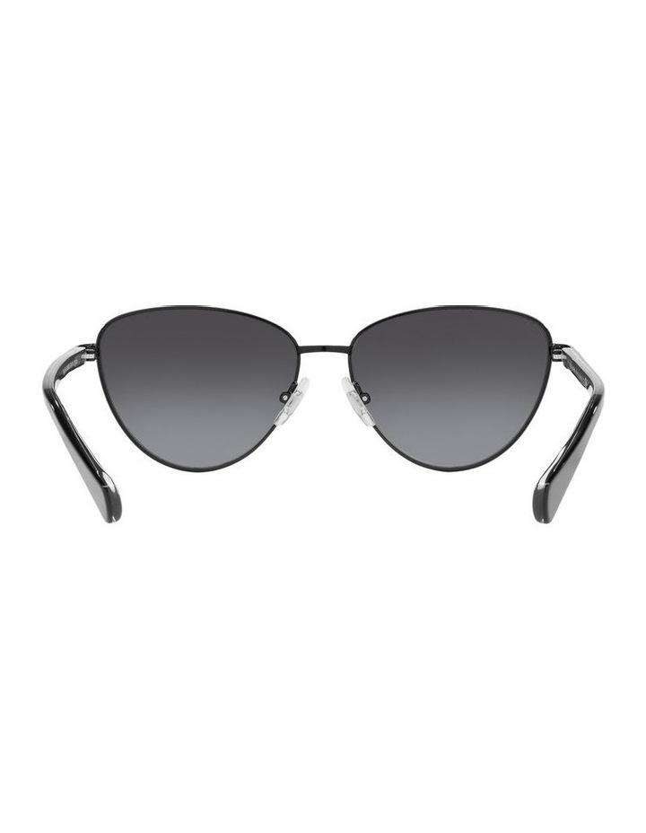 Black Cat Eye Sunglasses 0RA4134 image 7
