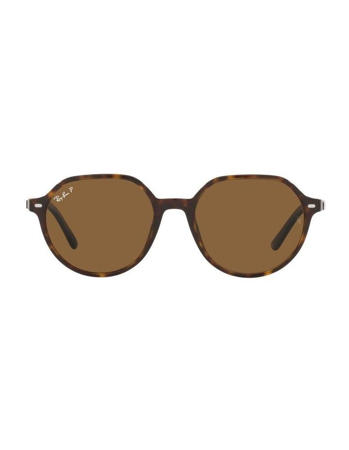 Thalia Polarised Brown Square Sunglasses 0RB2195 image 2