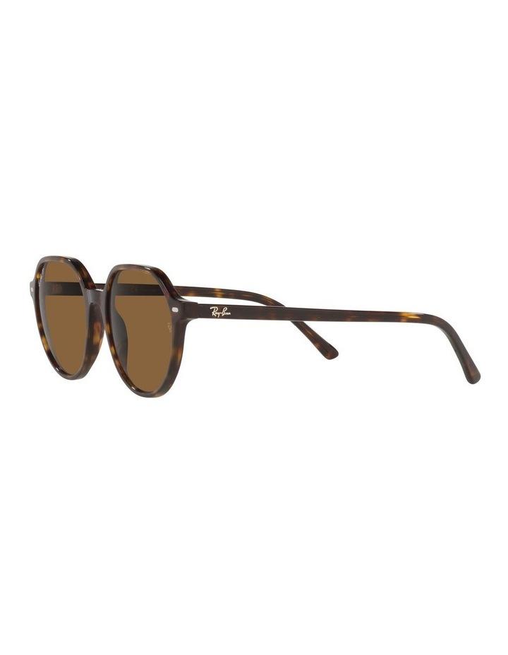 Thalia Polarised Brown Square Sunglasses 0RB2195 image 3
