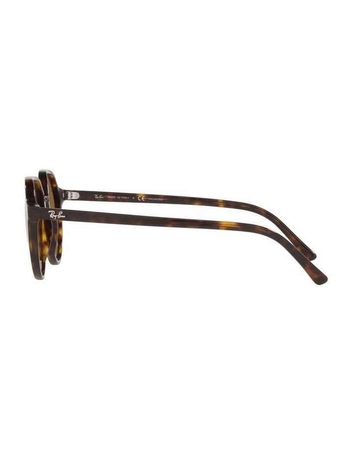 Thalia Polarised Brown Square Sunglasses 0RB2195 image 4