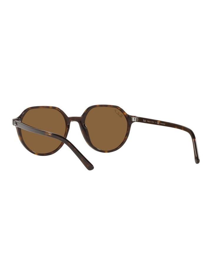 Thalia Polarised Brown Square Sunglasses 0RB2195 image 6