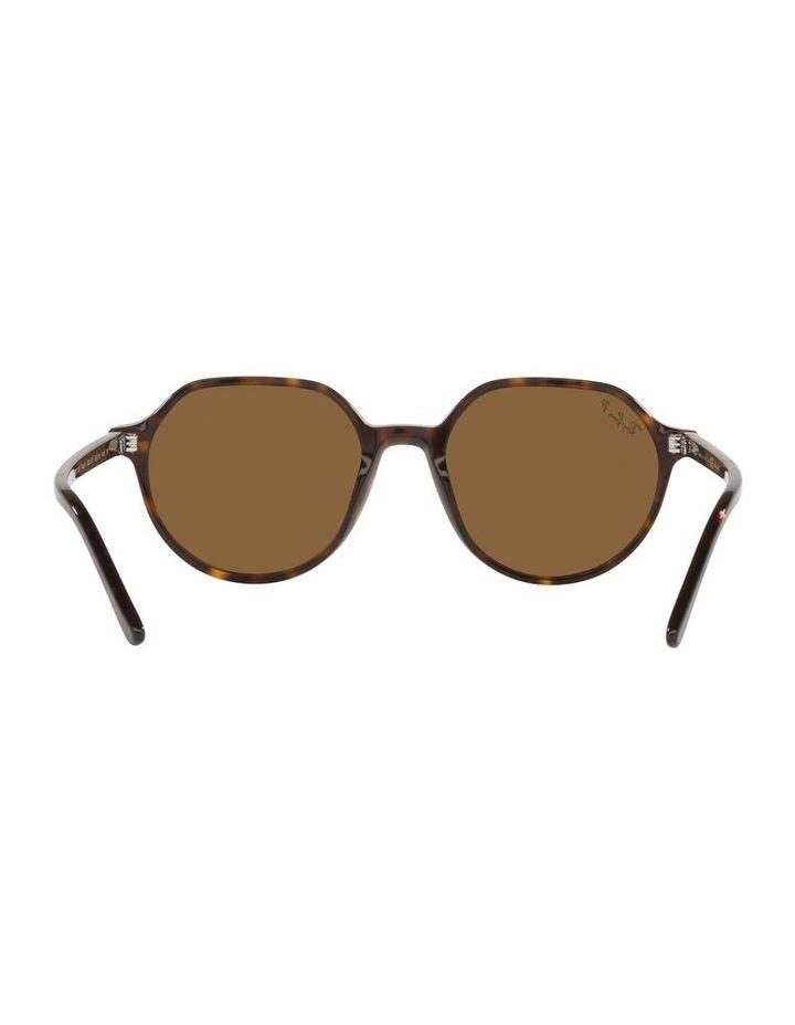 Thalia Polarised Brown Square Sunglasses 0RB2195 image 7