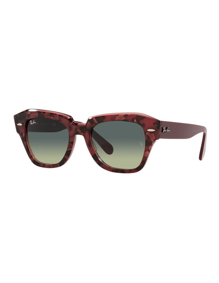State Street Red Square Sunglasses 0RB2186 image 1