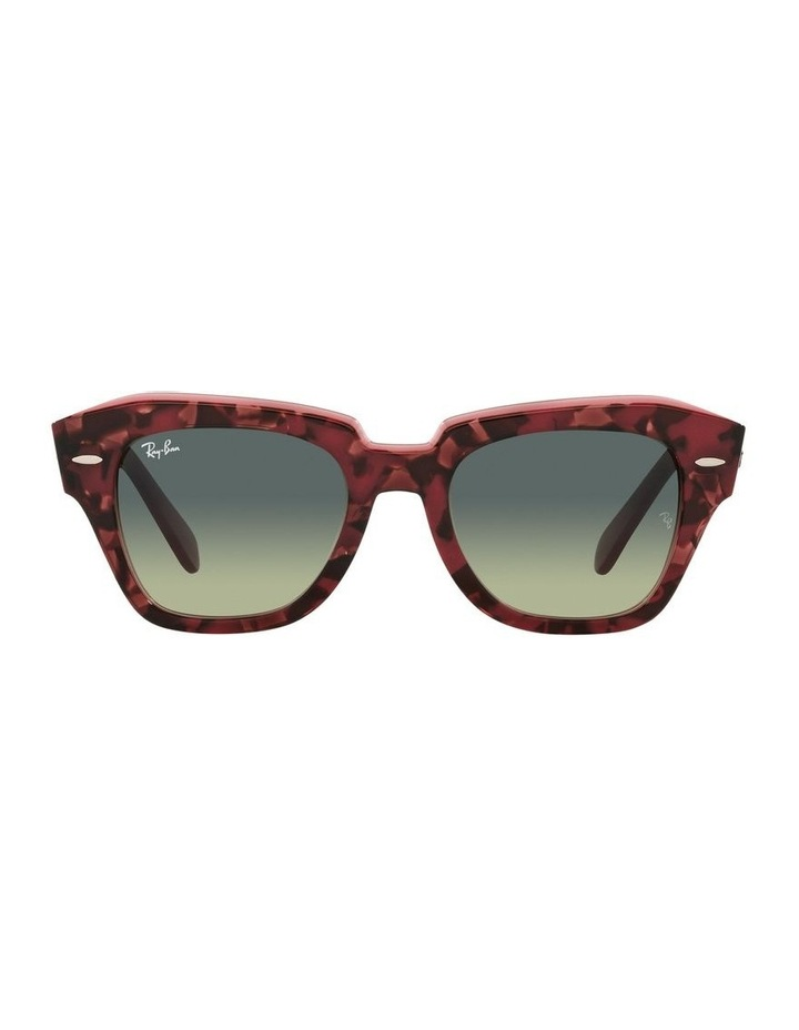 State Street Red Square Sunglasses 0RB2186 image 2