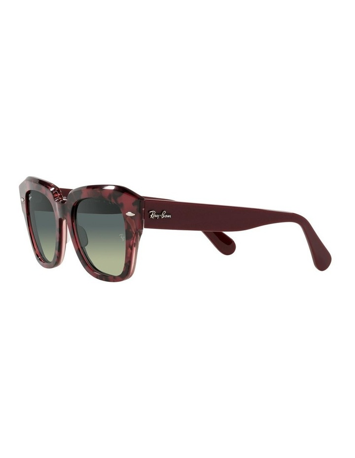 State Street Red Square Sunglasses 0RB2186 image 3