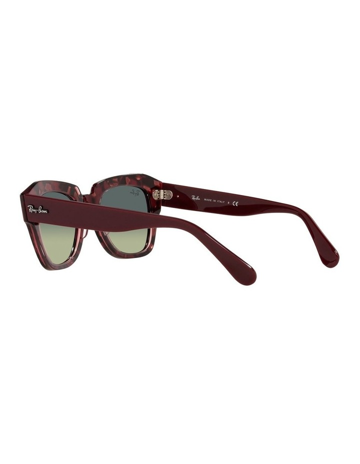 State Street Red Square Sunglasses 0RB2186 image 5