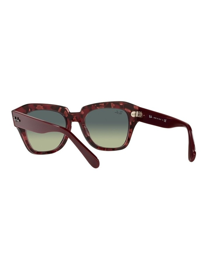 State Street Red Square Sunglasses 0RB2186 image 6