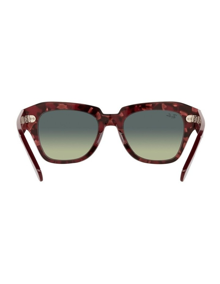 State Street Red Square Sunglasses 0RB2186 image 7