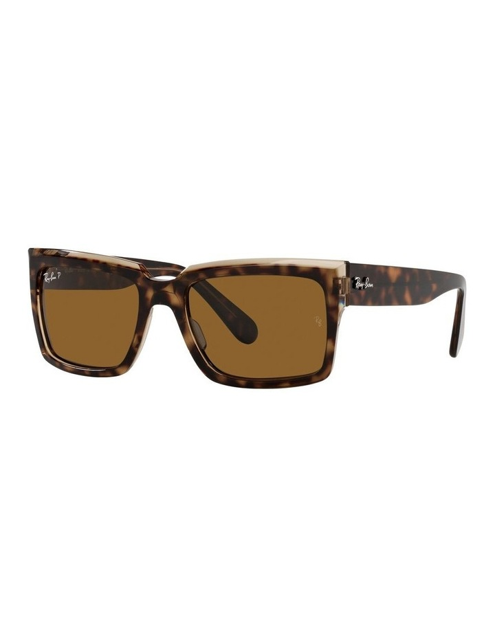 Inverness Polarised Brown Rectangle Sunglasses 0RB2191 image 1