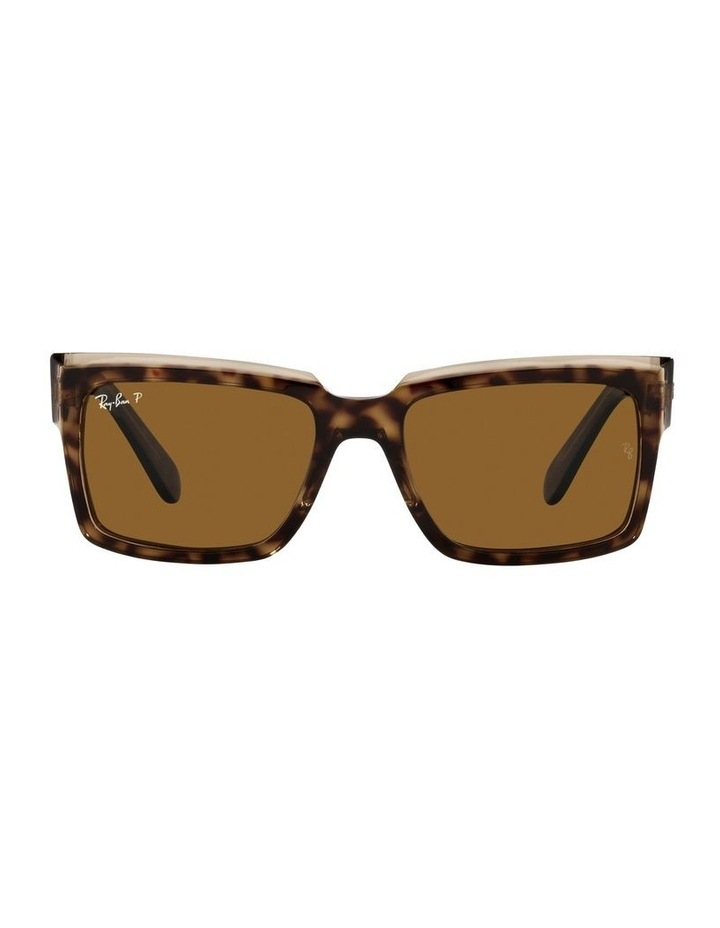 Inverness Polarised Brown Rectangle Sunglasses 0RB2191 image 2