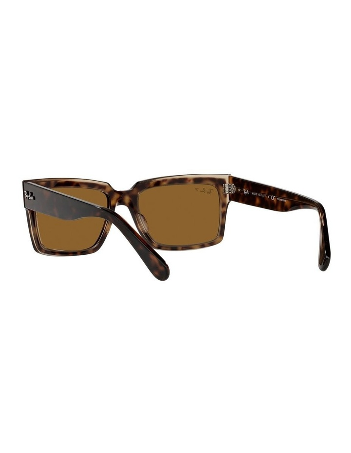 Inverness Polarised Brown Rectangle Sunglasses 0RB2191 image 6
