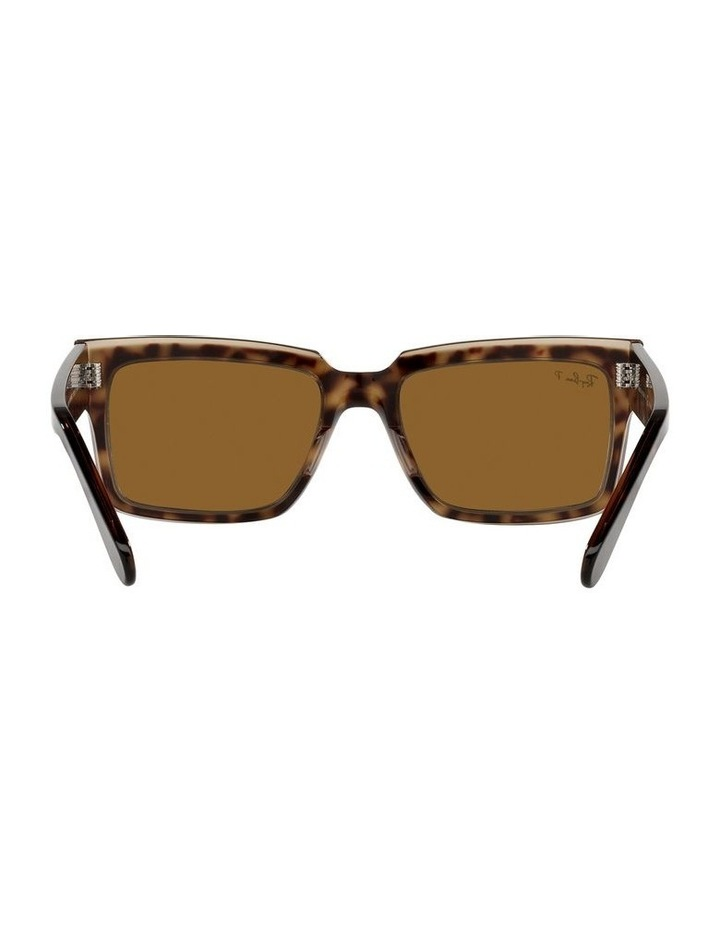 Inverness Polarised Brown Rectangle Sunglasses 0RB2191 image 7
