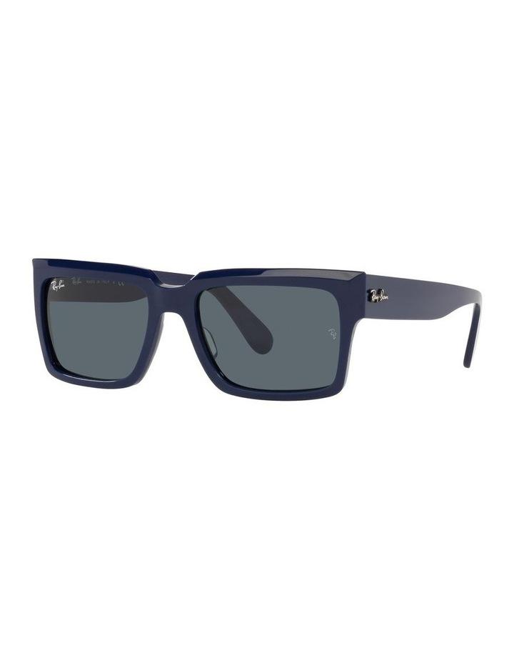Inverness Black Rectangle Sunglasses 0RB2191 image 1