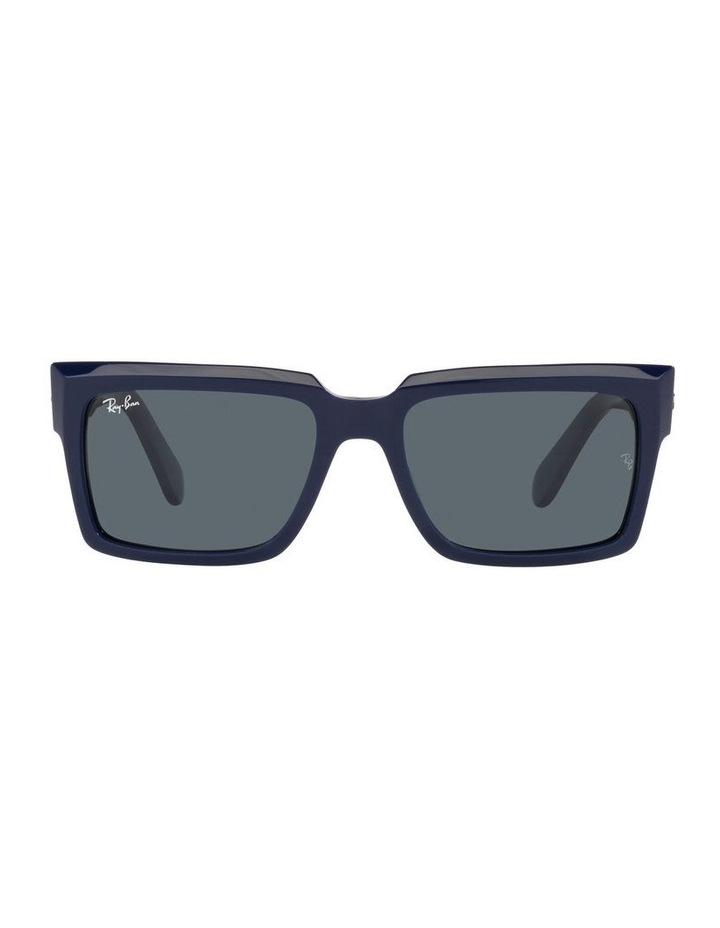 Inverness Black Rectangle Sunglasses 0RB2191 image 2