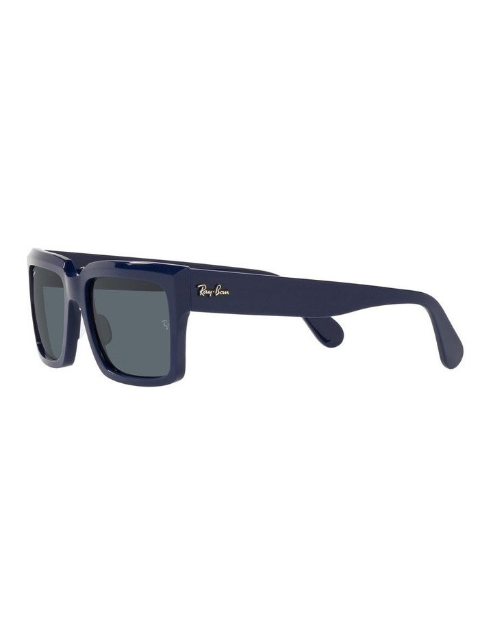 Inverness Black Rectangle Sunglasses 0RB2191 image 3