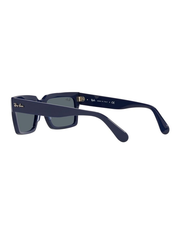 Inverness Black Rectangle Sunglasses 0RB2191 image 5